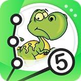 Punkte verbinden - Dinosaur
