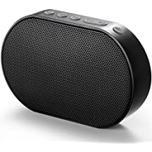 GGMM Bluetooth Wireless Wi-Fi Airplay Speaker with Amazon Alexa Tap Voice, Play 1/Multi-Room,10W,2.1 Stereo Bass Sound, Stream Your DLNA Spotify iHeartRadio TuneIn etc with Free GGMM App