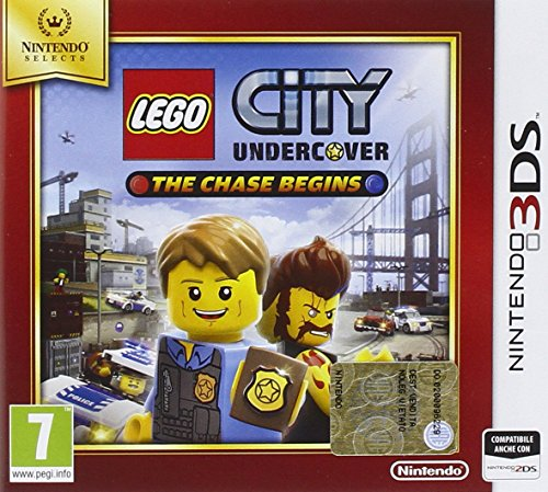 LEGO City Undercover The Chase Begins Nintendo Selects Nintendo 3DS