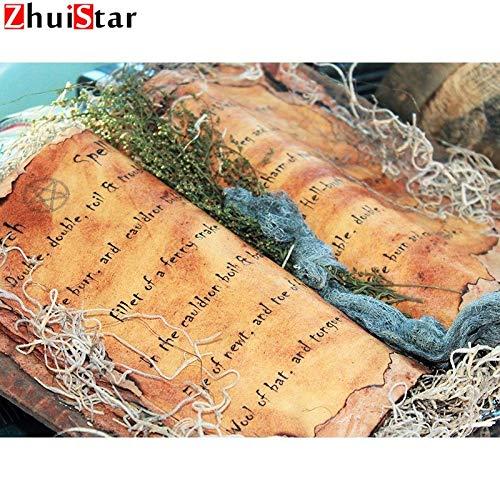 ische Diamant Malerei Kreuzstich Buch Strass Malerei Landschaft Diamant Mosaik Halloween Dekoration Xy1,20X25Cm ()