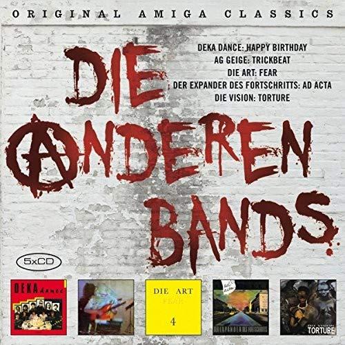 Die Anderen Bands (Post-Punk der 80er-Jahre) Vision-box