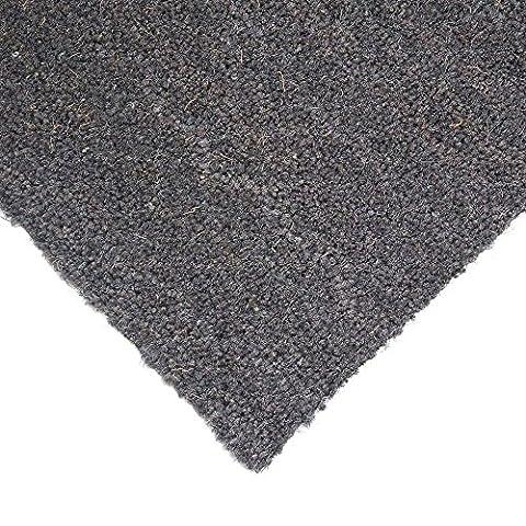 Extreme® Kokosfaser Boden Matten 17mm, grau   Kokos Entrance Mat–12Größen erhältlich (50x 80cm)