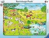Ravensburger Rahmenpuzzle 06145 Spaziergang auf Dem Land -