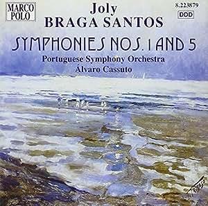 Santos Sinfonie 1 und 5 Cassuto
