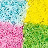 Papier déchiré aux coloris printaniers pour les œuvres d'art et loisirs créatifs pour Pâques (Par lot)