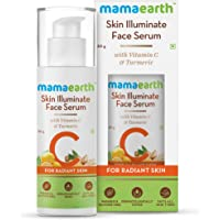 Mamaearth Skin Illuminate Vitamin C Face Serum For Glowing and Radiant Skin with High Potency Vitamin C & Turmeric; For…