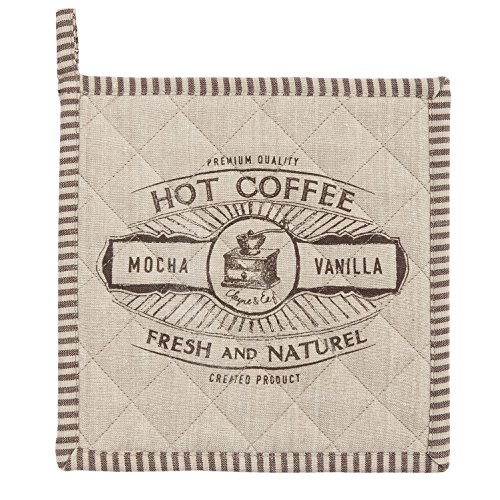 Clayre & Eef BFC45 But First Coffee Topflappen ca. 20 x 20 cm