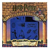 GUT® Set 11 Gummi Stempel mit Stempelkissen Harry Potter