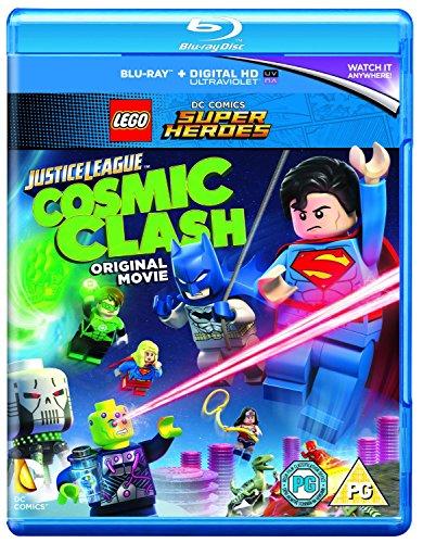 Lego: Justice League - Cosmic Clash [Blu-ray] [2016] [Region Free]