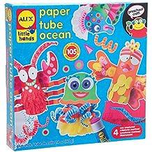 Alex Toys Little Hands - 1418 - Kit De Loisirs Créatifs - Océan En Tube Papier