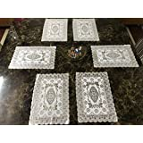 Style Your Home Dining Table Kitchen Placemats,12 By 18 Inches Table Mats (Set Of 6) 46 X 30 Cm