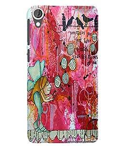 Citydreamz Modern Art Hard Polycarbonate Designer Back Case Cover For HTC Desire 628/ HTC Desire 628 Dual Sim