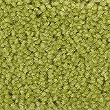 Teppichboden Auslegware Meterware Hochflor Shaggy Langflor Velour grün hell 400 und 500 cm breit, verschiedene Längen