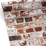 Multi / Rustic Red - 102538 - Loft - Brick - Retro - Muriva Wallpaper