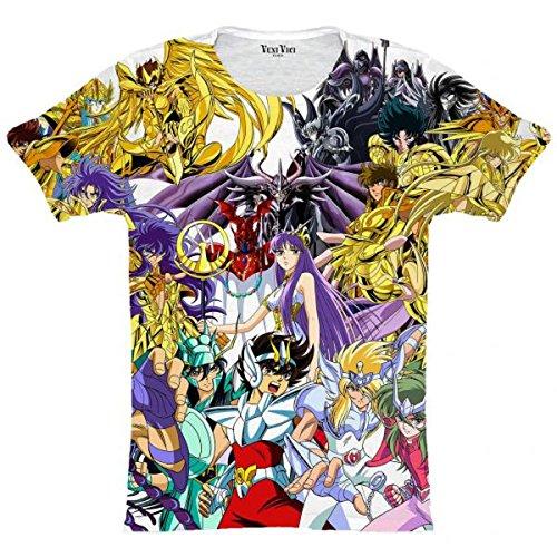 Veni Vici T-Shirt Saint Seiya Mehrfarbig