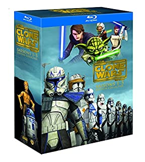 Star Wars - The Clone Wars - L'intégrale - Saisons 1 à 5 - Coffret Blu-Ray [Édition Collector] (B00DSKW90I) | Amazon price tracker / tracking, Amazon price history charts, Amazon price watches, Amazon price drop alerts