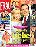 Frau im Spiegel 19 2015 Doris Gerhard Schröder Zeitschrift Magazin Einzelheft Heft