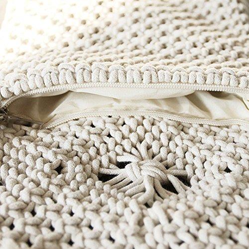 MEGA, Poschette giorno donna, White (Bianco) - kb-00334-01Q White