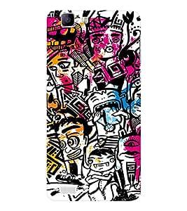 EPICCASE Tribal Art Mobile Back Case Cover For Vivo X 3s (Designer Case)