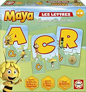 Educa - 15361 - Jeu Éducatif et Scientifique - Les Lettres avec Maya