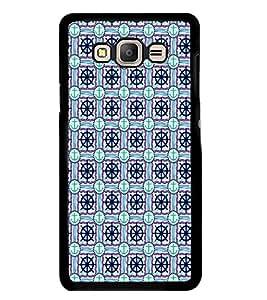 PrintVisa Seamless Wheel Anchor High Gloss Designer Back Case Cover for Samsung Galaxy E7 (2015) :: Samsung Galaxy E7 Duos :: Samsung Galaxy E7 E7000 E7009 E700F E700F/Ds E700H E700H/Dd E700H/Ds E700M E700M/Ds