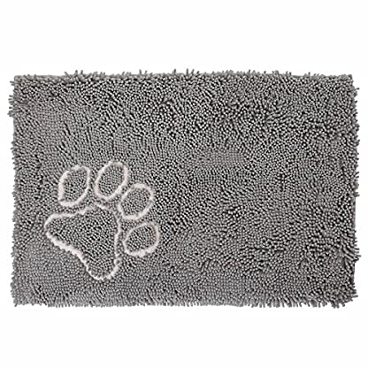 Bunty Soft Microfibre Pet Dog Puppy Cat Mat Bed Doormat Absorbant Muddy Wet Paws - X-Small - 46.5cm x 31cm 3