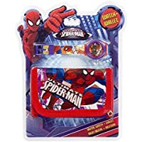 Set reloj digital billetera Spiderman Marvel