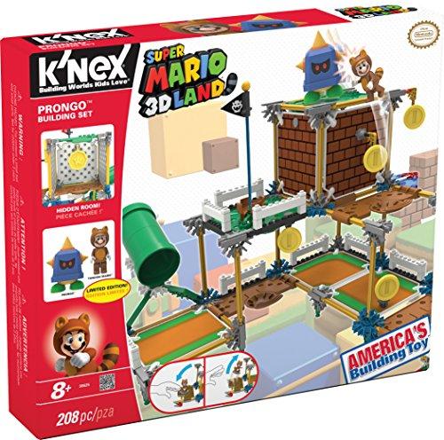Toy Factory 41012 - Super Mario Bros, Gioco di costruzioni deluxe con Prongo, 208 pezzi