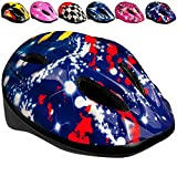 Bicycle Gear Kinderhelm Fahrradhelm Kinder Schutzhelm - Blau Lila
