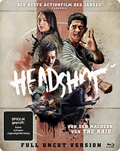 Headshot - Steelbook [Blu-ray]