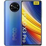 "POCO X3 Pro - Smartphone 6+128 GB, 6,67"" 120Hz FHD+DotDisplay, Snapdragon 860, Cámara Cuádruple de 48 MP, 5160mAh, Azul Escar"