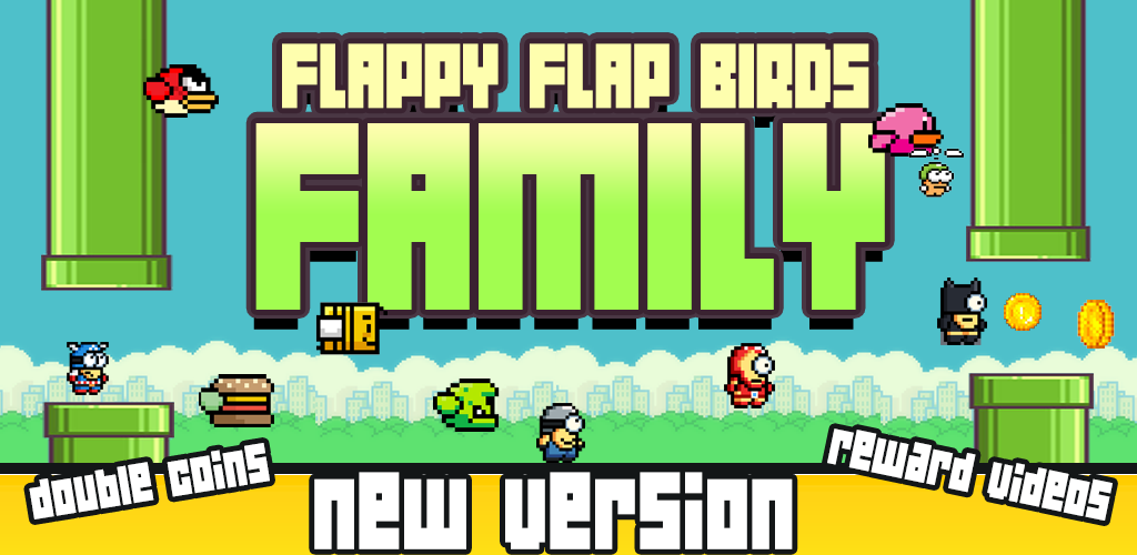 Image of Flappy Flap Birds Family