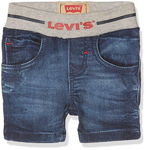 Levi's Baby - Jungen Shorts Gr. 74, Blau (Indigo 46) -
