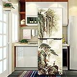 GJ-Kreative renovierung Aufkleber, wasserfeste Aufkleber, selbstklebend Kühlschrank Sticker, 60 * 150 cm.Kühlschrankaufkleber