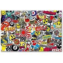 A4 Sheet Sticker Bomb Vinyl Wrap Car Bike Scooter Laptop Skate Cool Kids #6166