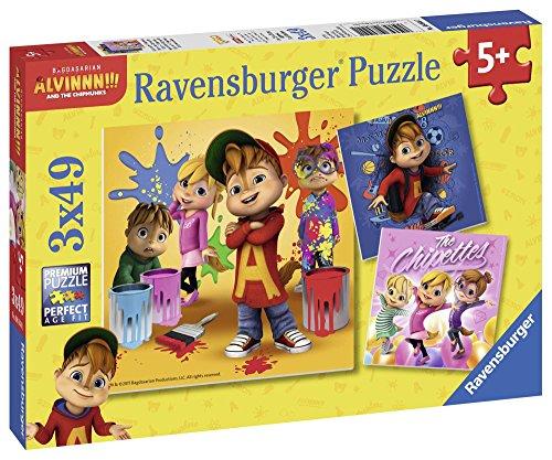 Ravensburger 08044 die Alvinnn und die Chipmunks (Alvin Chipmunks Spielzeug)