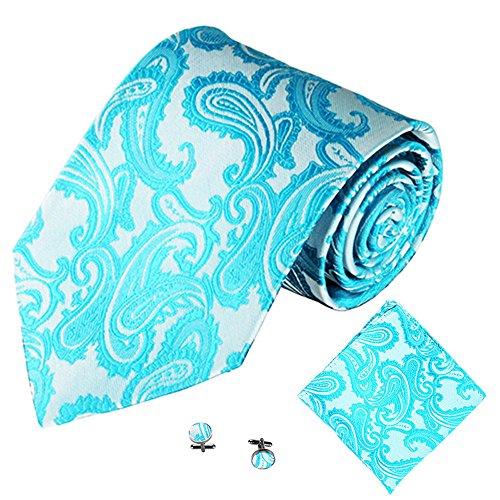 ❤ 3PCS Classic Jacquard Men Party Tie Pocket Square Pañuelo Gemelos   ❤ El paquete incluye: 1PC Tie + 1PC Pocket Square + 1 par gemelos   ❤ condicion: NUEVO   ❤ Material: satinado   ❤ Color: (como se muestra en las imágenes)   ❤ Presupuesto:   ❤ Así...