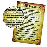 MonsterZeug Poster mit witzigen Sprüchen, Ehegesetze lustig, Ehe Gesetz lustig, 20 Gesetze der Ehe, Ratschläge für die Ehe, Urkunde für Ehepaare, lustiges Hochzeitsgeschenk