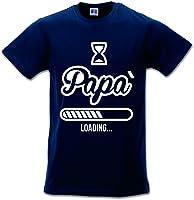 Babloo T Shirt Maglia Maglietta Idea Regalo per Il Papa'Papa' Loading