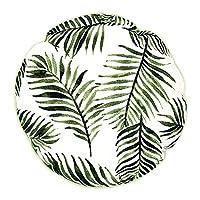 Vous créez votre propre oasis verte dans votre maison. Le coussin rond avec le pression de Bloom ingville vous invite à rêver et vous puissiez très rapidement dans de superbes fougères ambiance de vacances. Si pour se reposer sur votre canapé bien-ai... [Méridienne]