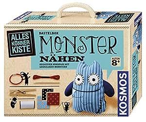 Kosmos 604080 – AllesKönnerKiste, Monster nähen