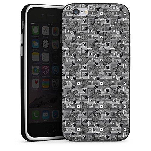 Apple iPhone X Silikon Hülle Case Schutzhülle Disney Mickey Mouse Geschenke Fanartikel Silikon Case schwarz / weiß