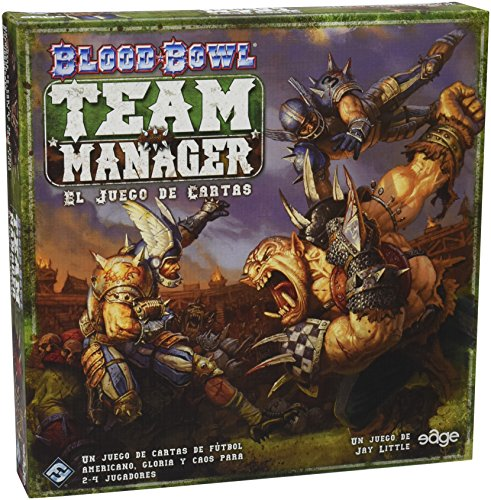 Edge Entertainment - Blood Bowl: Team Manager, juego de cartas (EDGGW03), Idioma Español