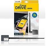 Schellenberg 60990 bluetooth garagedeur afstandsbediening, universele smartphone bluetooth garagedeuropener met led