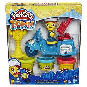 Play-Doh - Figura, vehículo y botes de plastilina, multicolor (Hasbro B5959EU4)