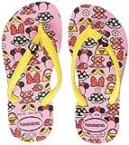 Havaianas Kids Disney Cool, Infradito Unisex bambini, Rosa (Pearl Pink 6615), 31/32 BR (33/34 EU)
