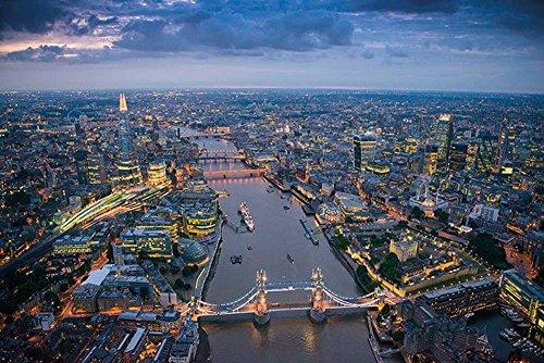 empireposter London - Jason Hawkes Photography - Größe (cm), ca. 91,5x61 - Poster, NEU -