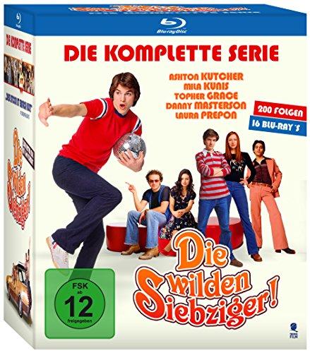 Die wilden Siebziger! - Staffel 1-8 [Blu-ray]