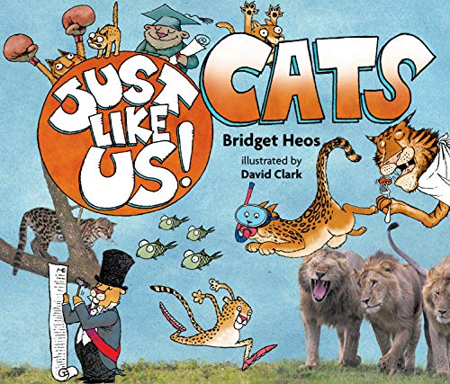 Just Like Us! Cats (English Edition)