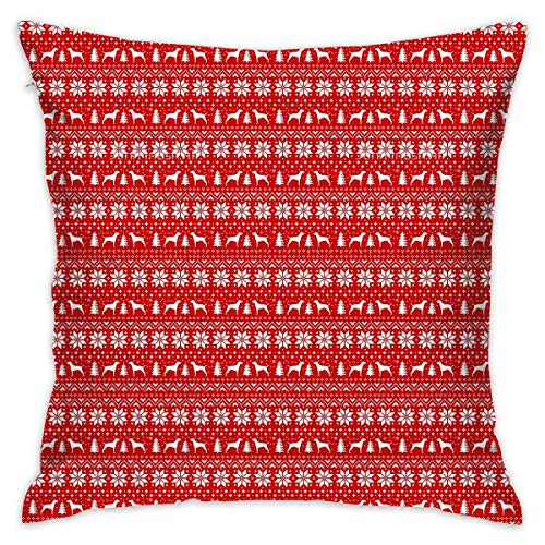 Vintage Christmas Stockings Throw Pillow Covers Decorative Pillowcases Toss Pillow Cushion Slips Covers for Sofa Couch Car 18